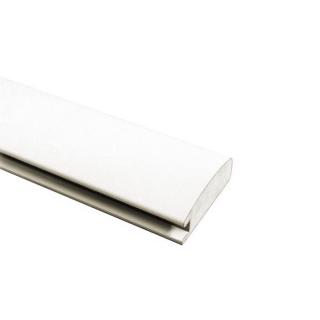 МДФ профиль AGT 1003, белый 230, паз 8 мм