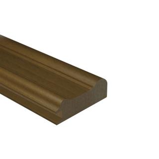 МДФ профиль AGT KS-02, орех тёмный 240, паз 8 мм