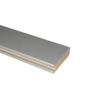 МДФ профиль AGT 1018, серебро 257, паз 8 мм