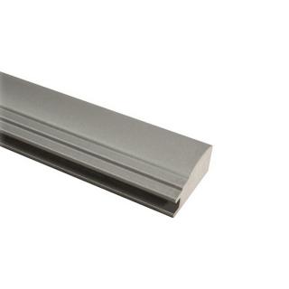 МДФ профиль AGT 1031, серебро 257, паз 8 мм