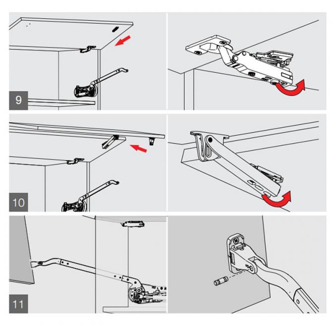 Подъемный механизм, Duolift 720, белый, Samet