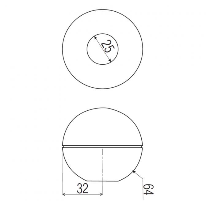 Джокер R-23 заглушка шар