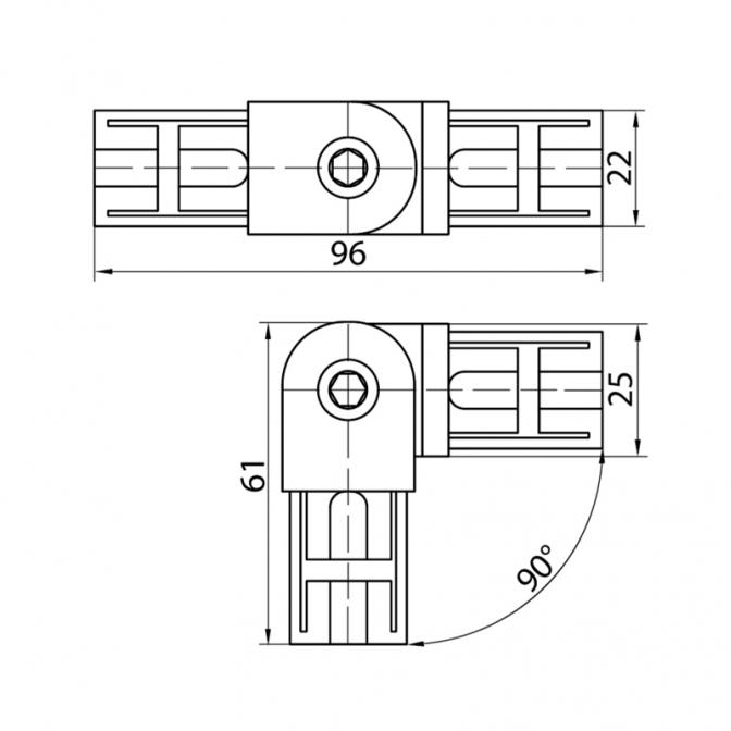 Джокер R-41 соединение трубы поворотное