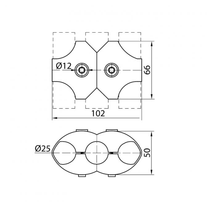 Джокер R-5 параллельное для трёх труб