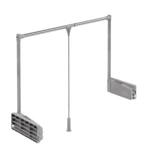 Лифт-пантограф S-6013-G, 850-1150 мм, серый/хром, Starax