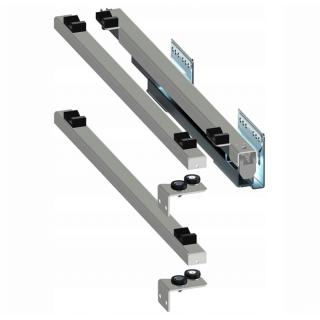Направляющие скрытые 450 мм, правые, Push to Open, Variant Multi Rejs