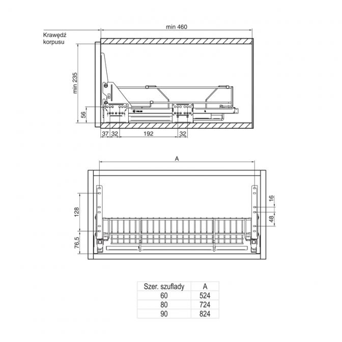 Корзина-сушка 600, Variant Multi Rejs