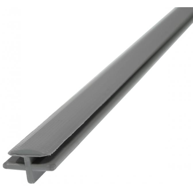 Профиль соединительный для лотков, серый