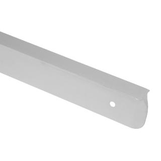 Планка угловая для столешницы 28 мм, R=6, алюминий