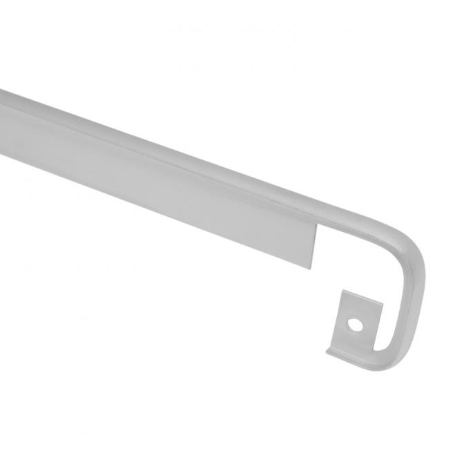 Планка соединительная для столешницы 38 мм, R=6, алюминий