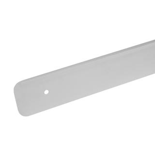 Планка торцевая для столешницы 38 мм, левая, R=6, алюминий