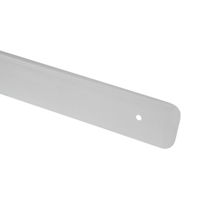 Планка торцевая для столешницы 38 мм, правая, R=6, алюминий