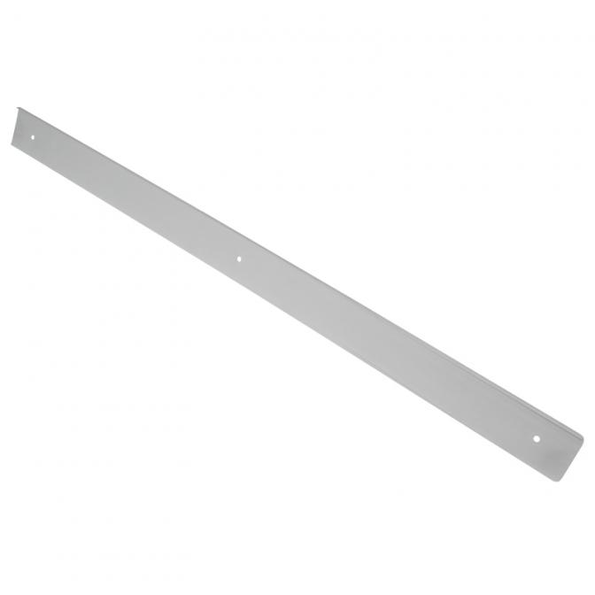 Планка торцевая для столешницы 38 мм, правая, R=3, алюминий