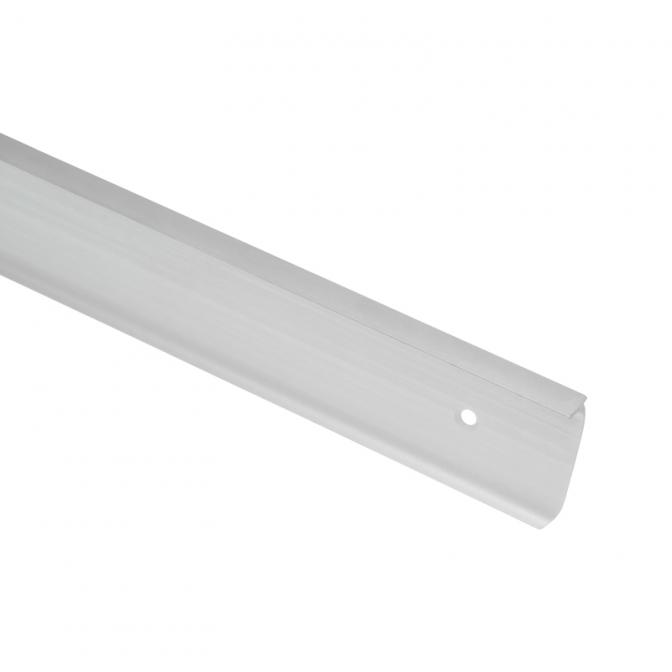 Планка угловая для столешницы 38 мм, R=3, алюминий