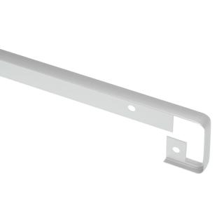 Планка соединительная для столешницы 38 мм, R=3, алюминий