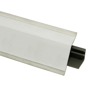 Плинтус 118 Белый премиум 606167, 4200 мм, Rehau