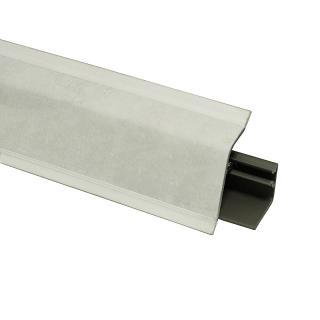 Плинтус 118 Аврора белый 604345, 4200 мм, Rehau