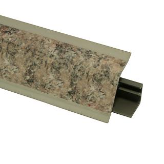 Плинтус 118 Галица серо-бежевая 628619, 4200 мм, Rehau