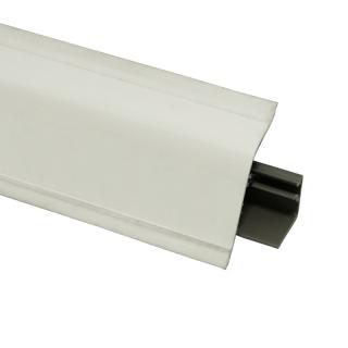 Плинтус 118 Белый глянец 628705, 4200 мм, Rehau