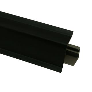 Плинтус 118 Черный 601689, 4200 мм, Rehau