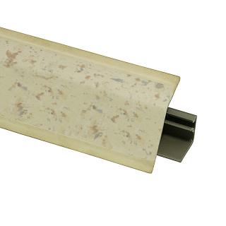 Плинтус 118 Сира желтая 622859, 4200 мм, Rehau