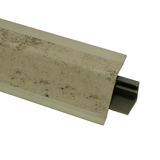 Плинтус 118 Тренто бежево-серый 635069, 4200 мм, Rehau