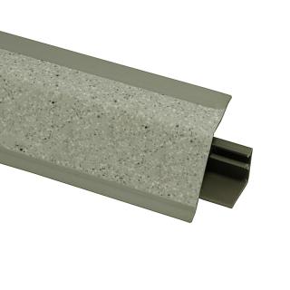 Плинтус 118 Террано серый 622789, 4200 мм, Rehau
