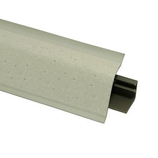 Плинтус 118 Мириад белый 624674, 4200 мм, Rehau