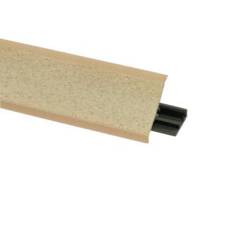 Плинтус 85 Румба, 3000 мм, El-mech-plast