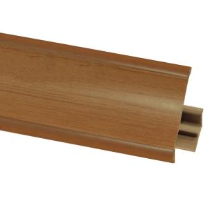 Плинтус 11 Ольха, 3000 мм, El-mech-plast