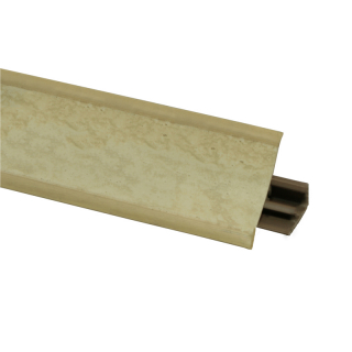 Плинтус 96 Песок, 3000 мм, El-mech-plast