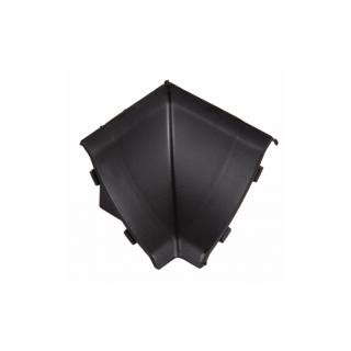 Угол внутренний к плинтусу черная 55, El-mech-plast