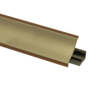 Плинтус 44 Золото, 3000 мм, El-mech-plast