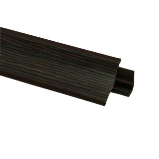 Плинтус 102 Зебрано Кения, 3000 мм, El-mech-plast