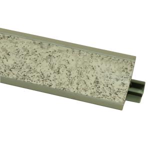 Плинтус 36 Камешек светлый, 3000 мм, El-mech-plast