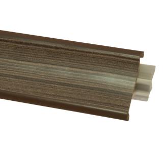 Плинтус 121, 3000 мм, El-mech-plast