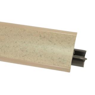 Плинтус 23 Песок античный, 3000 мм, El-mech-plast
