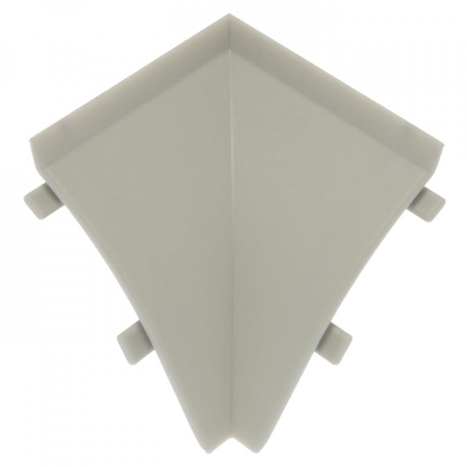 Угол внутренний к плинтусу WAP3 AC 18, серый, Egger