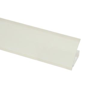 Плинтус WAP 03 W1000 ST16 Белый премиум, 4100 мм, Egger