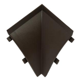 Угол внутренний к плинтусу WAP3  07, тёмно-коричневый, Egger