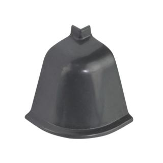 Угол наружный к плинтусу 118 темно-серая 98151, Rehau