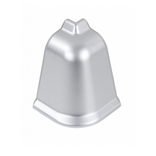 Угол наружный к плинтусу LB-37 Алюминий 310, Korner