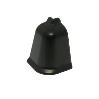 Угол наружный к плинтусу LB-37 Черная 459, Korner