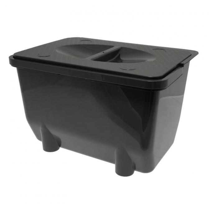 Контейнер для хранения отходов 5 л, антрацит, Mesan