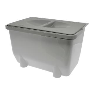 Контейнер для хранения отходов 5 л, серый, Mesan
