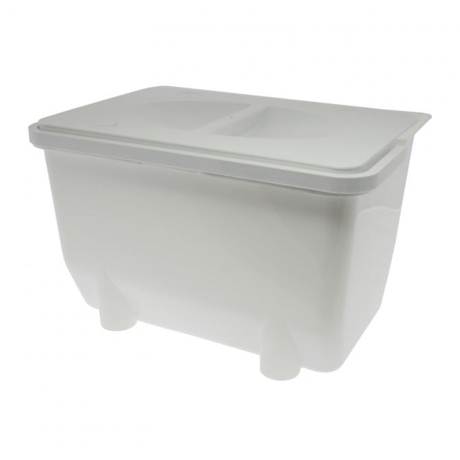 Контейнер для хранения отходов 5 л, белый, Mesan