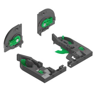 Комплект креплений Dynapro 3D, Grass