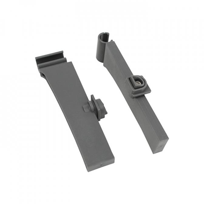 LS BOX стеклянные боковины: крепления задние