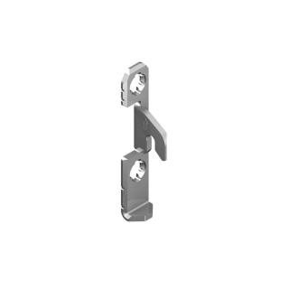 Крепеж фасада для боковин H=186/250 Nova Pro Scala, Grass