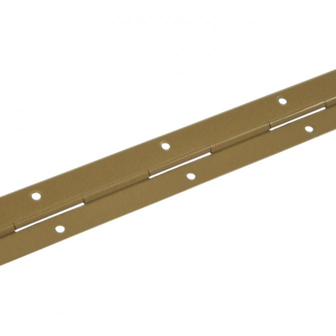 Петля рояльная L=1700 мм, H=30,4 мм, S=0,8 мм, Бронза